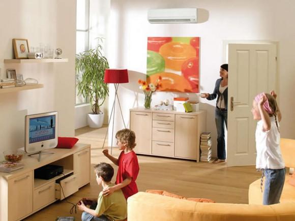 Domestic air con