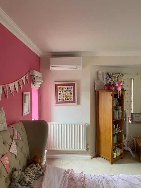 Air conditioning in bedroom